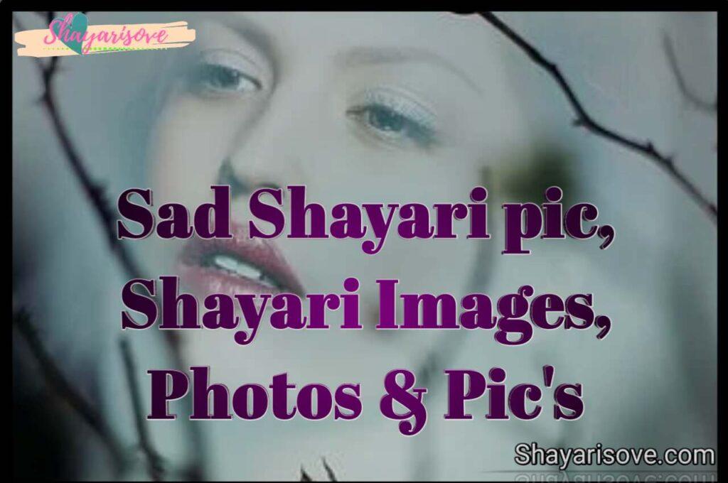 Sad shayari pic