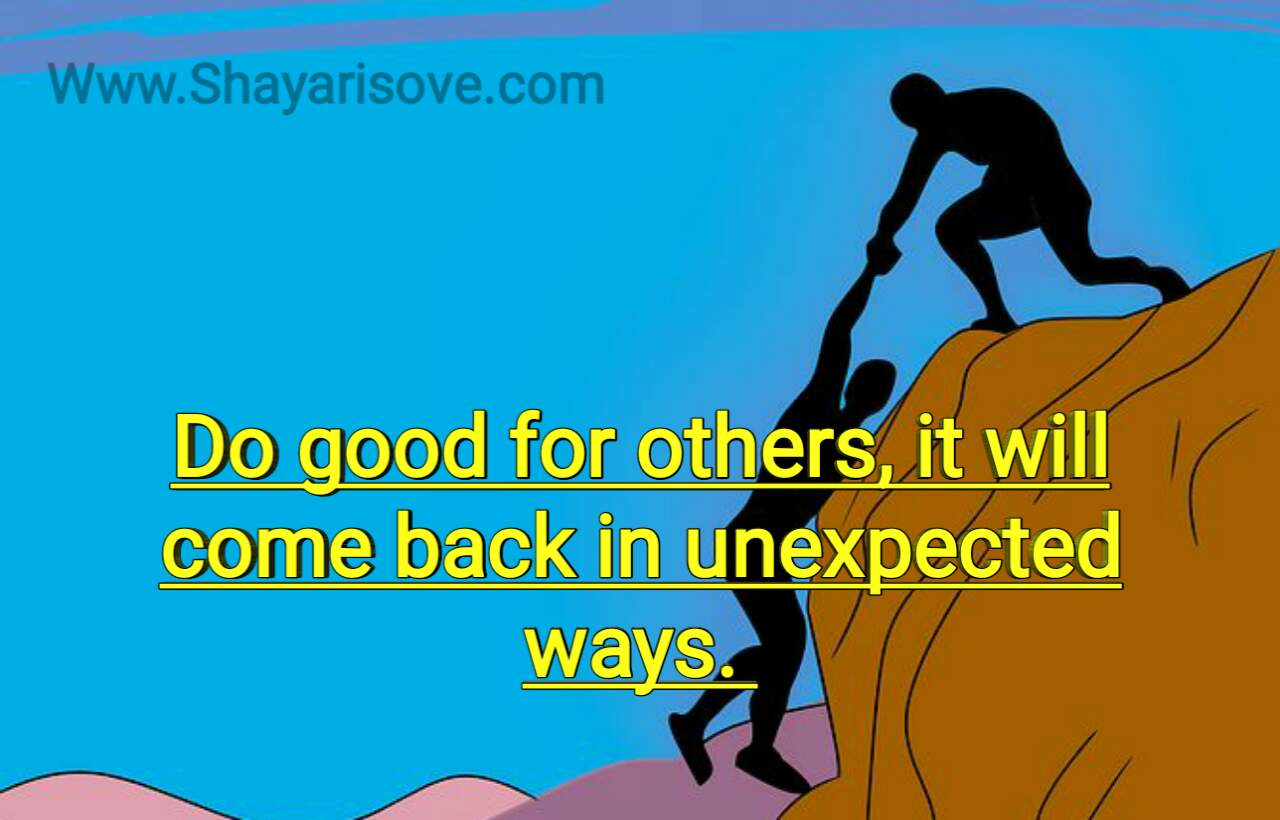 Do Good for others, motivation status