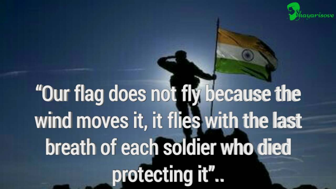Breath of each soldier