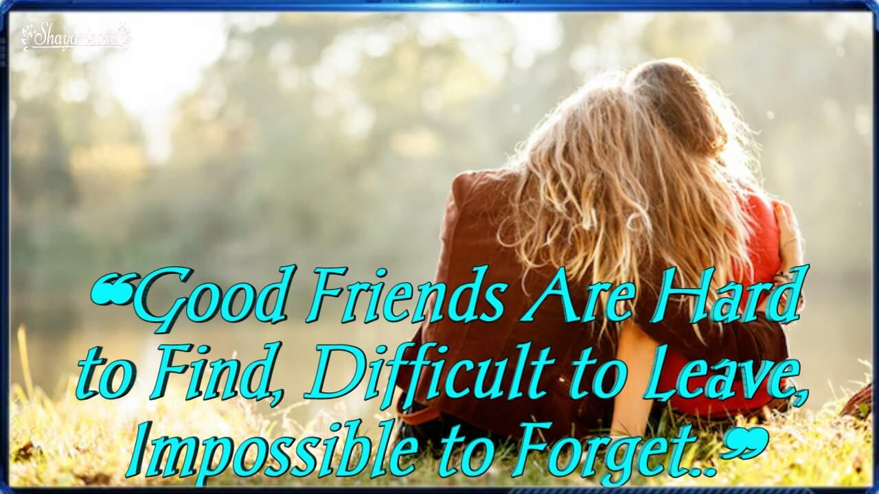 Good friends