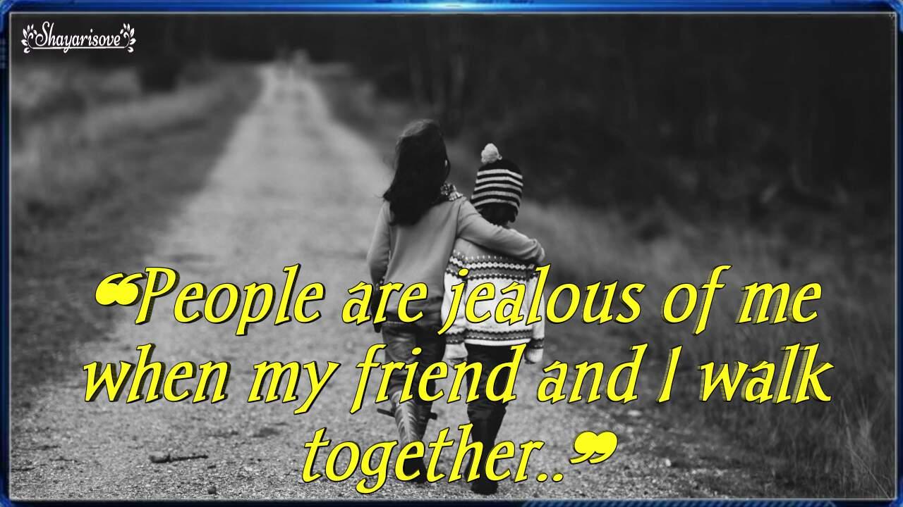 People are jealous