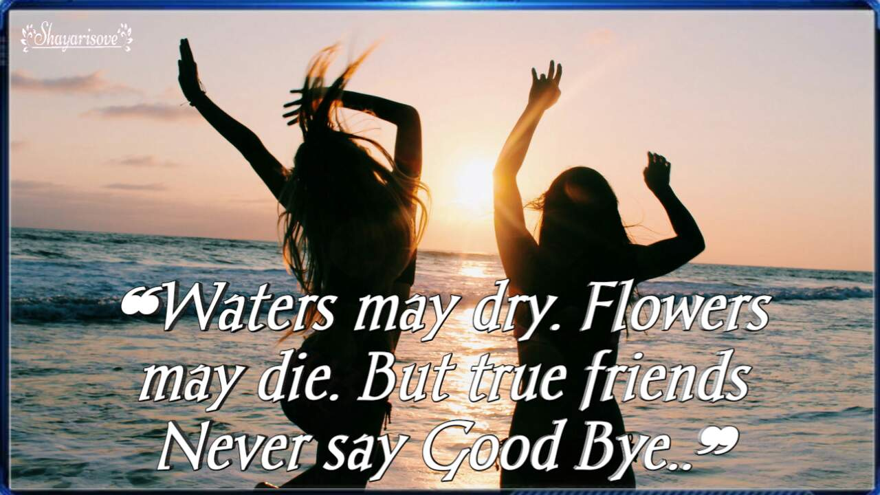 Water may dry