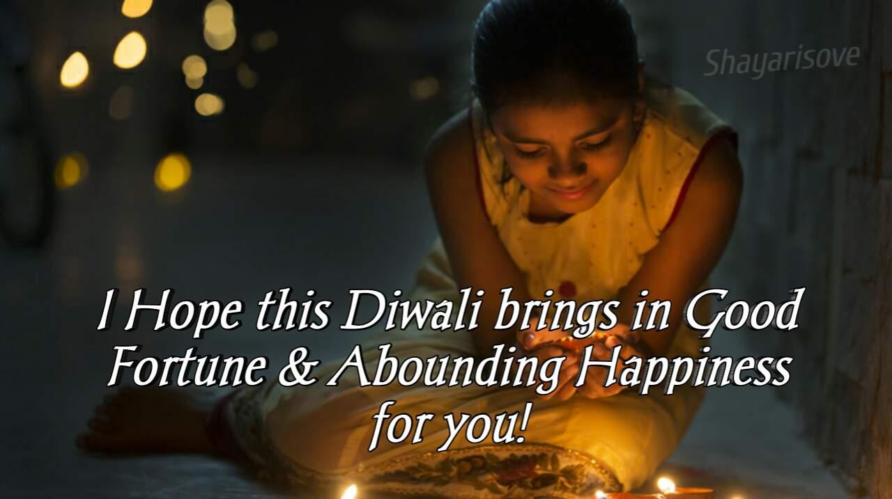 Diwali bring good